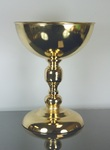 "Metal Vase Gold 10"" x 8"" x 13"", 1pc"