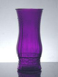 "Utility Rose Vase 3.75"" x 8.5"", 24 p/c, Purple"