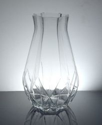 "Geomeric Bottle Vase 4.25"" x 10"", 12 p/c"