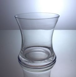 "Gathering Hour Glass Vase 5.5"" x 6"", 12 p/c"