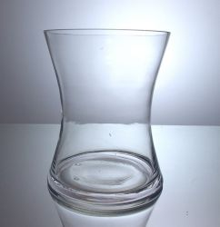 "Gathering Hour Glass Vase 6.5"" x 8"", 12 p/c"