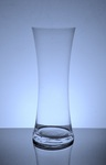 "Gathering Hour Glass Vase 6"" x 16"", 6 p/c"