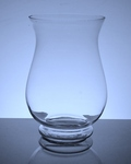 "Wide Hurricane Vase 6""x 10"", 6 p/c"