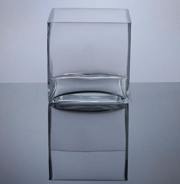 Pcs777 Cube Glass Vase 7 X 7 X 7 6 Pc Cube Glass Vases
