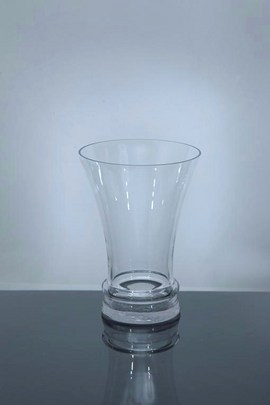 Short Trumpet Glass Vase 7