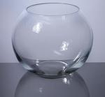 "Bubble Bowl Glass Vase 10"" x 8"", 4 p/c"