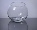 "Bubble Bowl Glass Vase 4"" x 5"", 12 p/c"