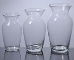 Glass Ginger Vases