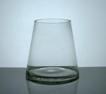 "Short Tapered Up Cylinder Vase 4"" x 6"" x 6"",12 p/c"