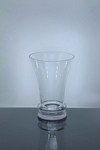 "Short Trumpet Glass Vase 7"" x 5"" x 10"", 6 p/c"