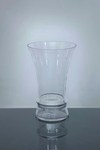 "Short Trumpet Glass Vase 8"" x 6"" x 12"", 6 p/c"