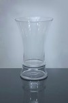 "Short Trumpet Glass Vase 9"" x 7"" x 14"", 4 p/c"
