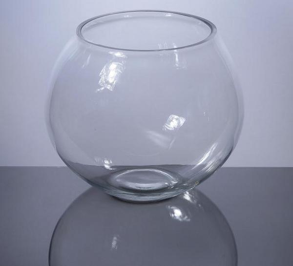 Pzf605 Bubble Bowl Glass Vase 4 X 5 12 Pc Pan Bubble Bowl Vases