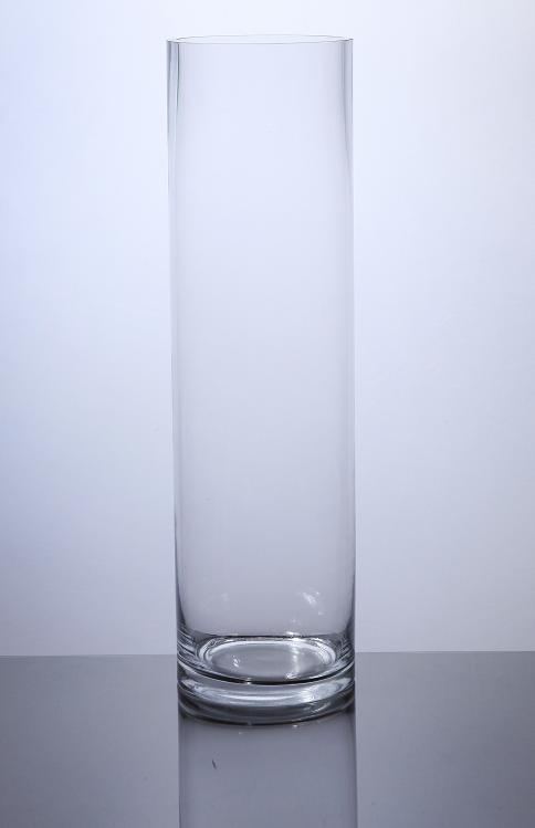 Pc518 Cylinder Glass Vase 5 X 18 6 Pc Cylinder Glass Vases
