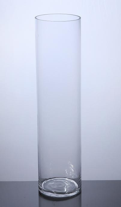 Pc624 Cylinder Glass Vase 6 Quot X 24 Quot 6 P C Cylinder Glass Vases