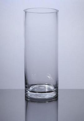 Pc406 Cylinder Glass Vase 4 Quot X 6 Quot 12 P C Cylinder Glass Vases