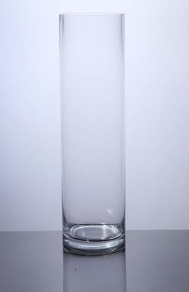 Pc518 Cylinder Glass Vase 5 Quot X 18 Quot 6 P C Cylinder Glass Vases